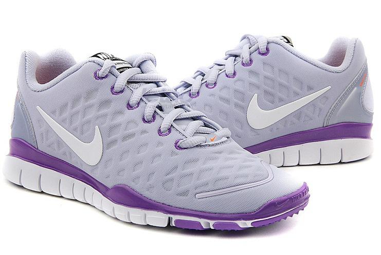 2012 Nike Free Run LiNa Traing Shoes Grey Purple White