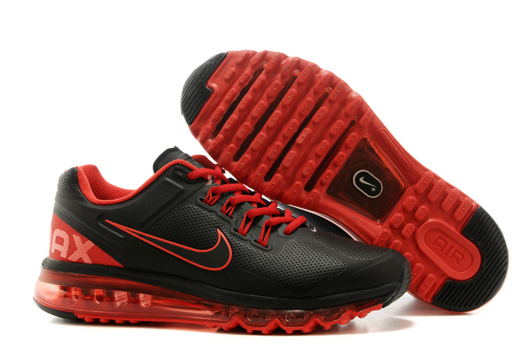 2013 Nike Air Max Black Red Running Shoes