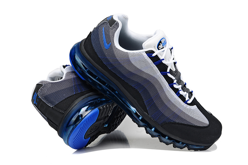 2013 Nike Air Max 95 Black Blue Shoes