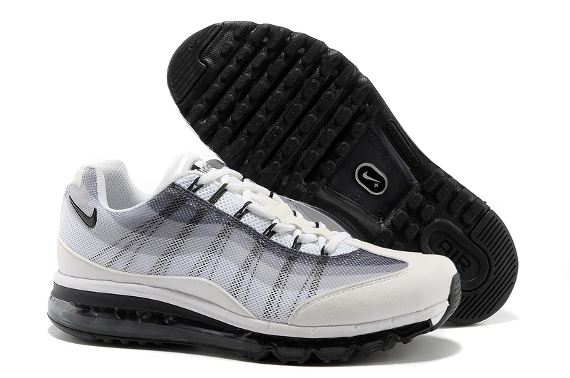 2013 Nike Air Max 95 Grey Black Shoes