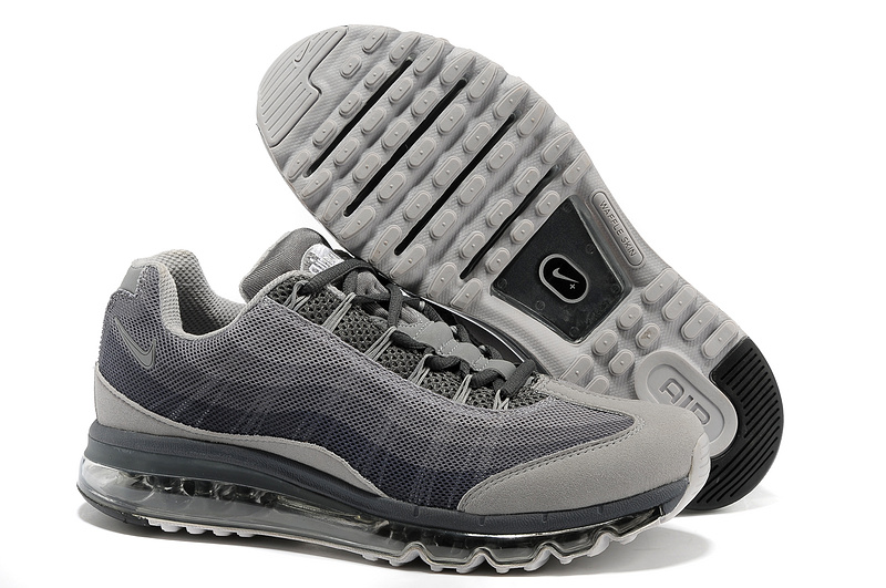 2013 Nike Air Max 95 Grey Shoes