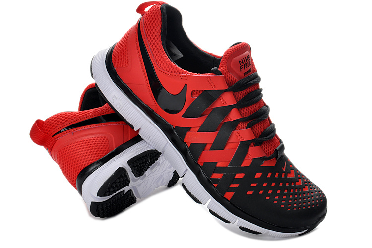 Classic Nike Free 5.0 Black Red White Running Shoes