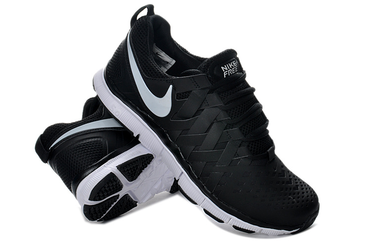 Classic Nike Free 5.0 Black White Running Shoes