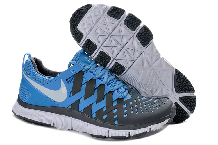 Classic Nike Free 5.0 Blue Grey Running Shoes