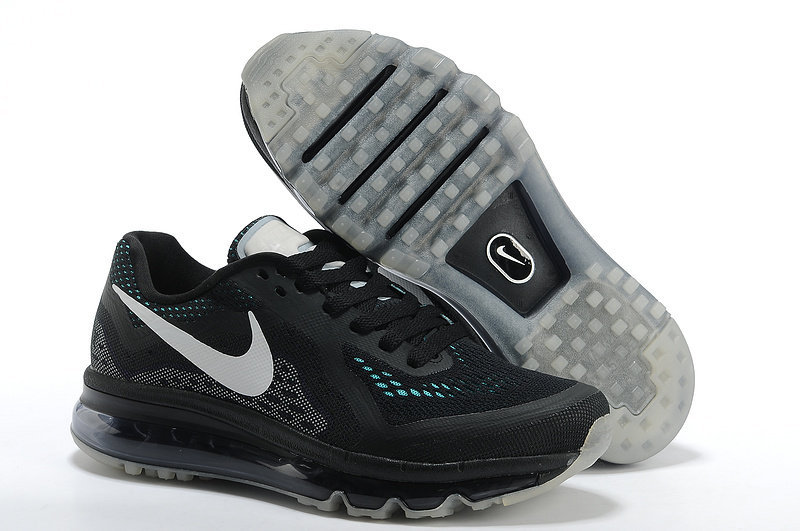 2014 Nike Air Max Cushion All Black For Women