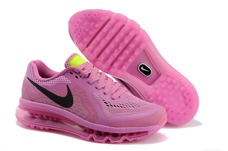 2014 Nike Air Max Cushion All Pink For Women