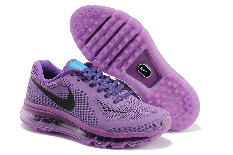 2014 Nike Air Max Cushion All Purple For Women