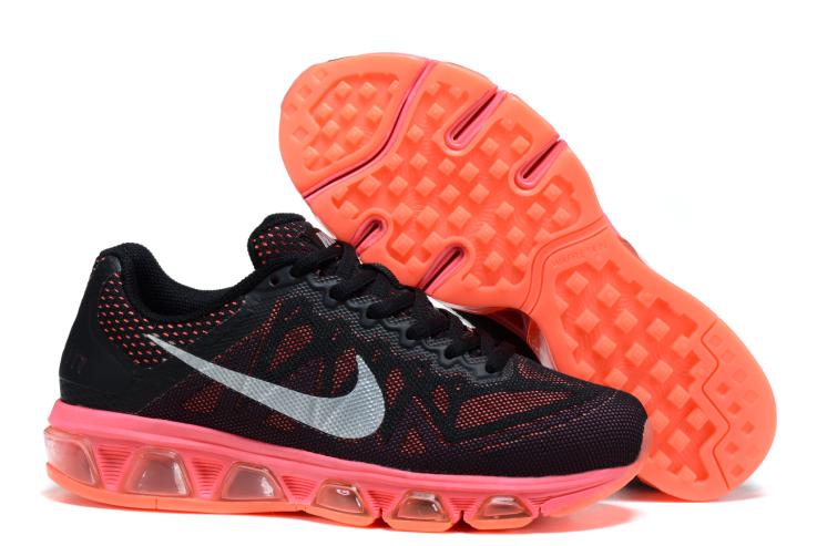 2015 Nike 20K6 Women Black Orange Shoes