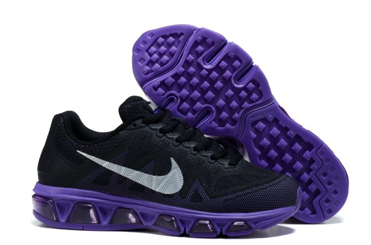 2015 Nike 20K6 Women Black Purple Shoes