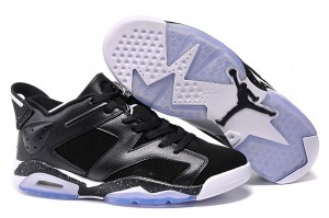 2015 Air Jordan 6 Retro Low Black Oreo