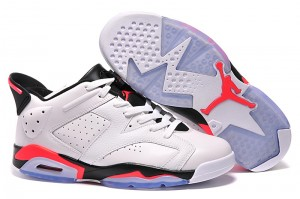 2015 Air Jordan 6 Retro Low White Infrared 23