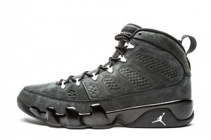 2015 Air Jordan 9 IX Retro Anthracite All Black New