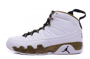 2015 Air Jordan 9 Retro The Statue White Black Militia Green