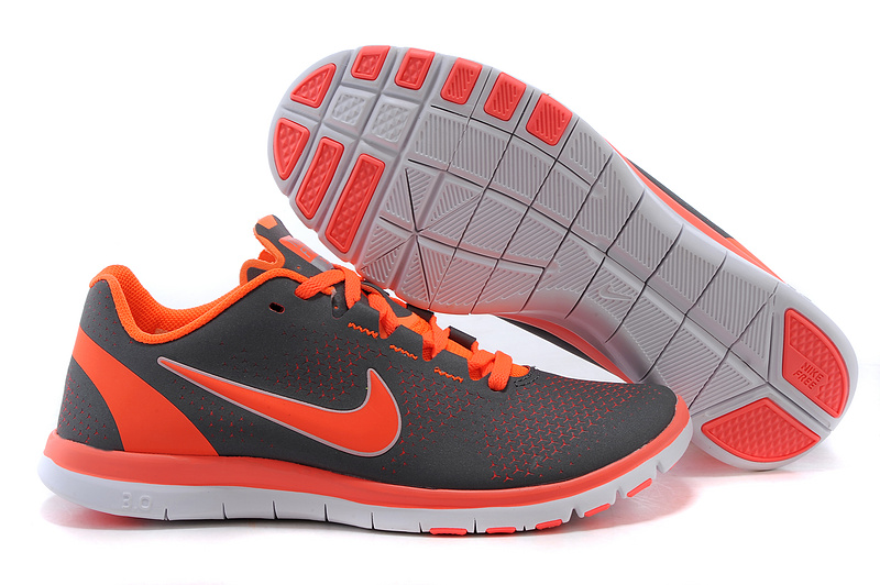 2015 Nike Free 3.0 Black Orange Running Shoes