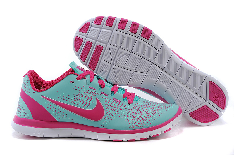 2015 Nike Free 3.0 Green Pink Running Shoes