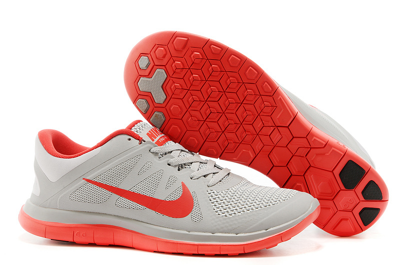 New Nike Free Run 4.0 V4 Grey Pink Running Shoes