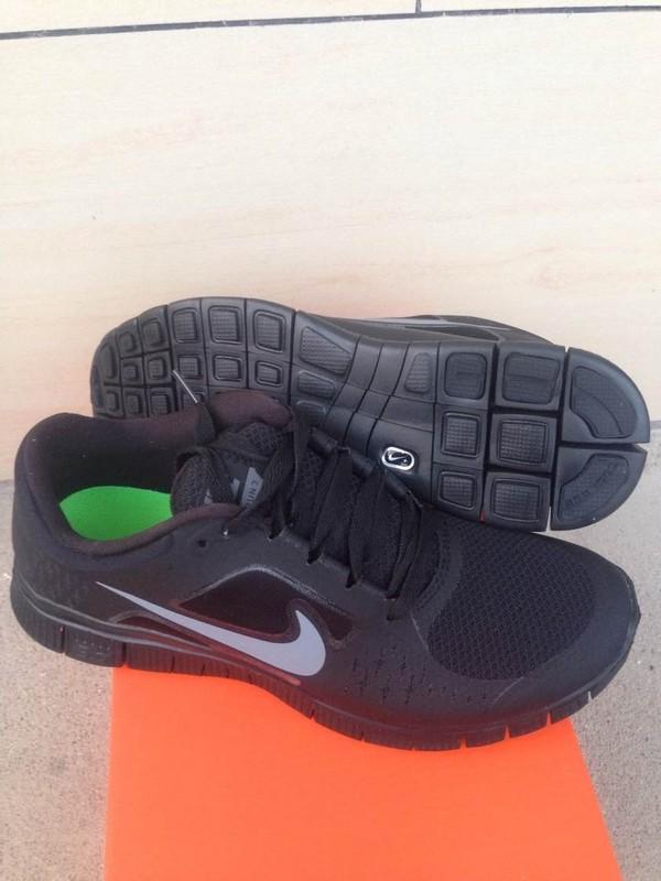 Trendy Nike Free Run 5.0 2 Black Grey