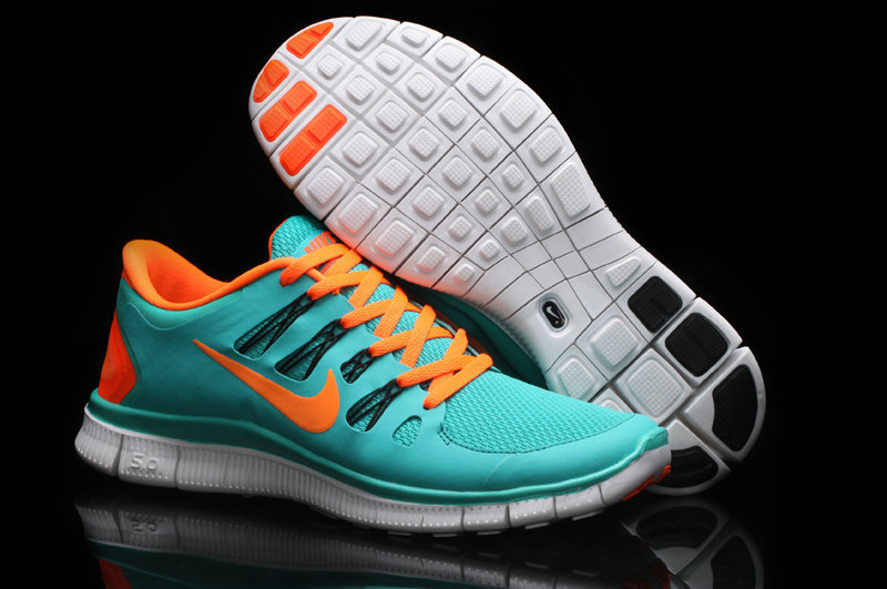 Trendy Nike Free Run 5.0 2 Blue Orange
