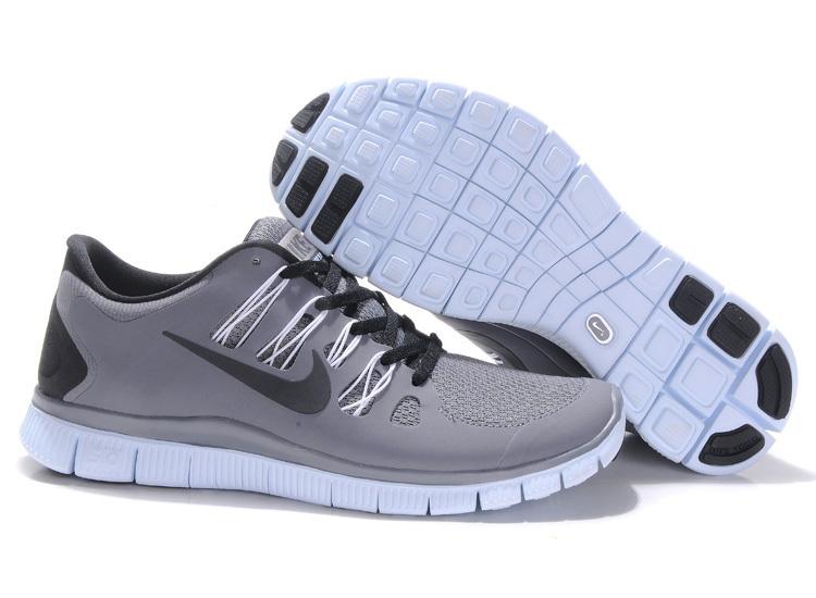 Trendy Nike Free Run 5.0 2 Grey Black