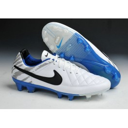 2015 men's soccer boots nike tiempo legend v fg reflective pack white black blue