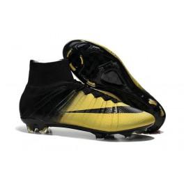 2015 nike men's mercurial cr7 superfly fg football cleats black bronze