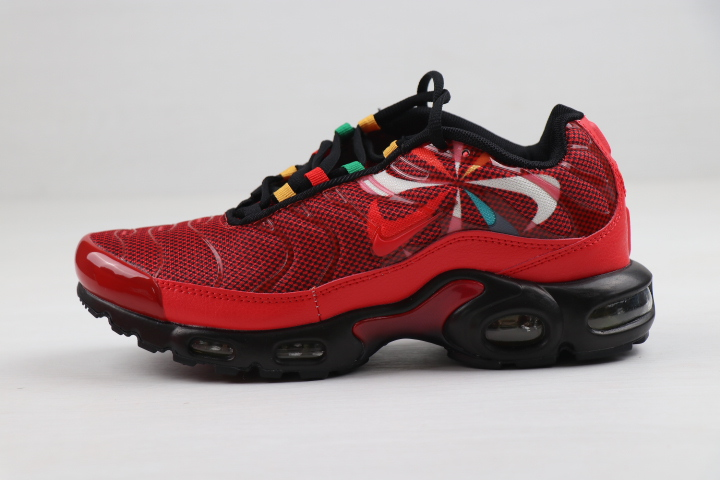 Nike Air Max VaporMax Plus Red Black Colorful Shoes