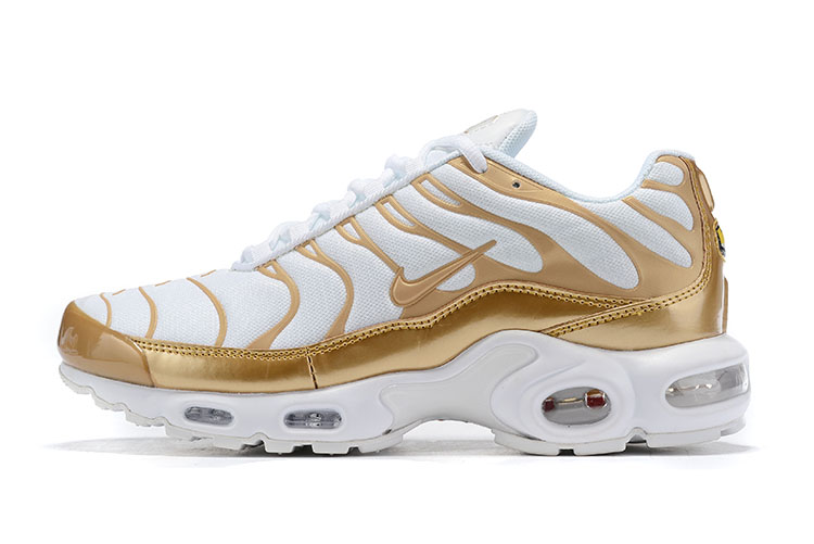 Nike Air Max VaporMax Plus White Gold Shoes