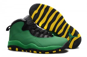 Air Jordan 10 Oregon Ducks