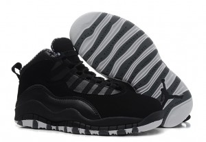 Air Jordan 10 X Retro Black White Stealth