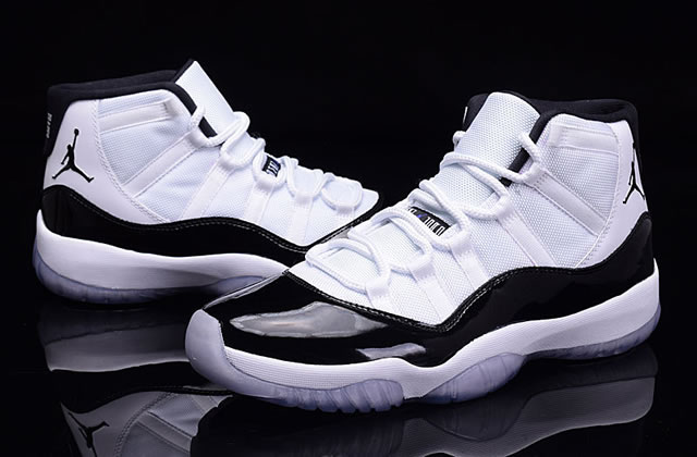 Air Jordan 11 Concord AJ11 White Black