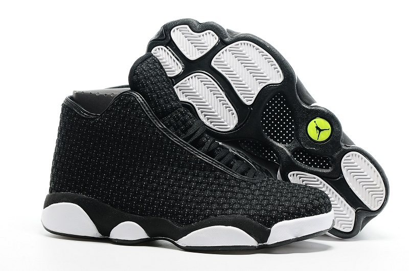 Air Jordan 13 Future Black White Shoes