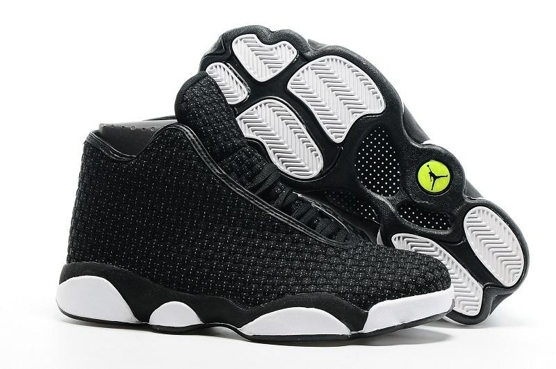 Air Jordan 13 Future Black White Shoes