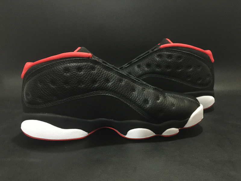 Air Jordan 13 Low Bred Black Red All Star Shoes