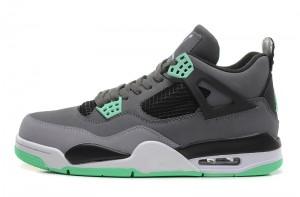 Air Jordan 4 IV Retro Dark Grey Green Glow