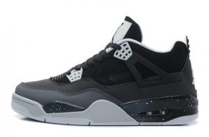 Air Jordan 4 Retro Fear Black White Cool Grey Pure Platinum