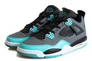 Air Jordan 4 Retro Tiffany Teal Black Cement Grey