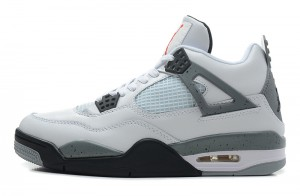 Air Jordan 4 Retro White Black Cement Grey