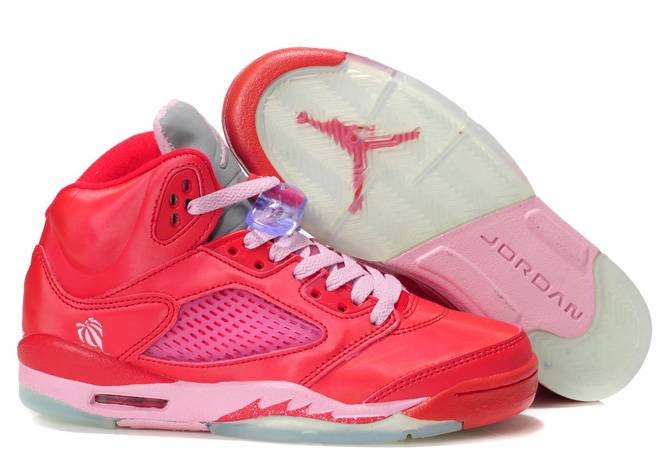 Air Jordan 5 GS Gym Red Ion Pink
