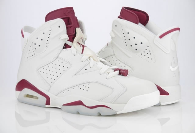 Air Jordan 6 Maroon