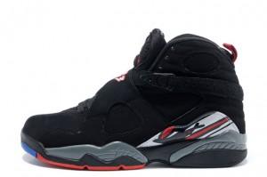 Air Jordan 8 Retro Playoffs Black True Red White