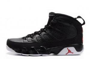 Air Jordan 9 Retro Black White Varsity Red