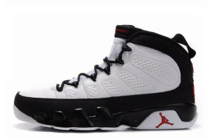 Air Jordan 9 Retro White Black True Red