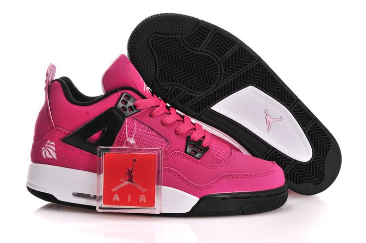 Air Jordan IV GS Voltage Cherry With Plastic Tag