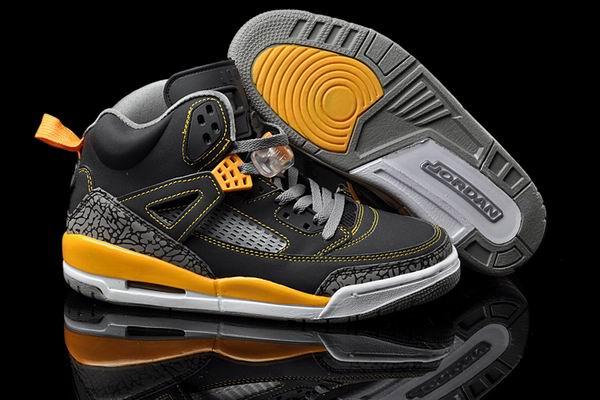 Air Jordan Spizike Black University Gold