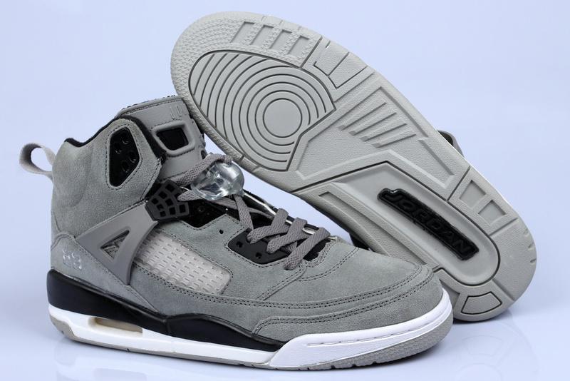 Air Jordan Spizike Wolf Grey Suede