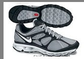 Nike Air Max 2012 Grey Black White Logo Shoes
