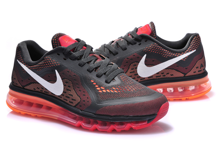 Nike Air Max 2014 Cushion Black Red Shoes