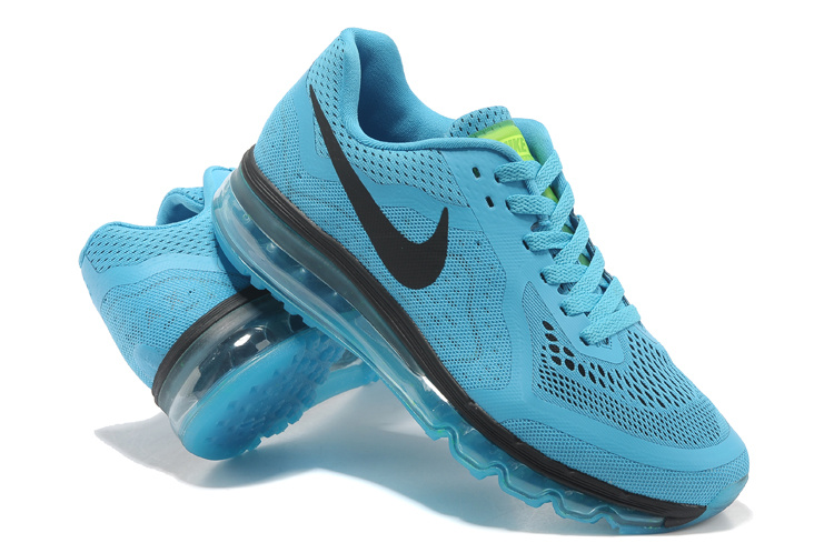 Nike Air Max 2014 Cushion Blue Black Shoes