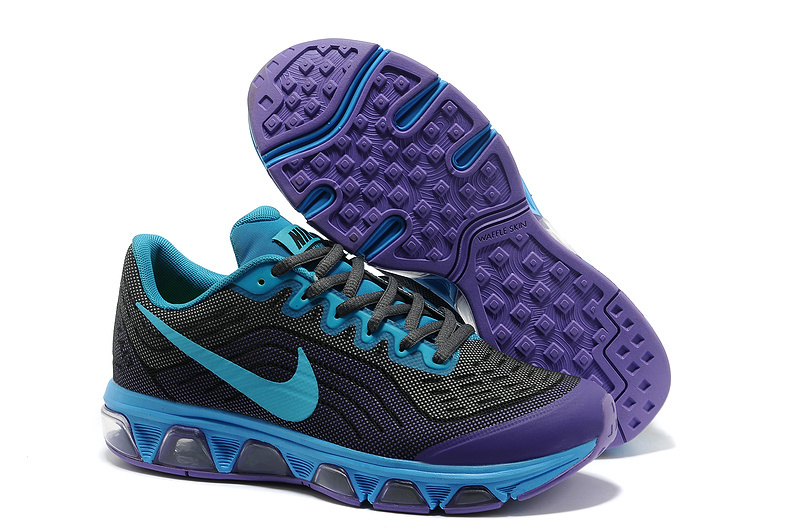 Nike Air Max 2015 Cushion Black Blue Purple Shoes