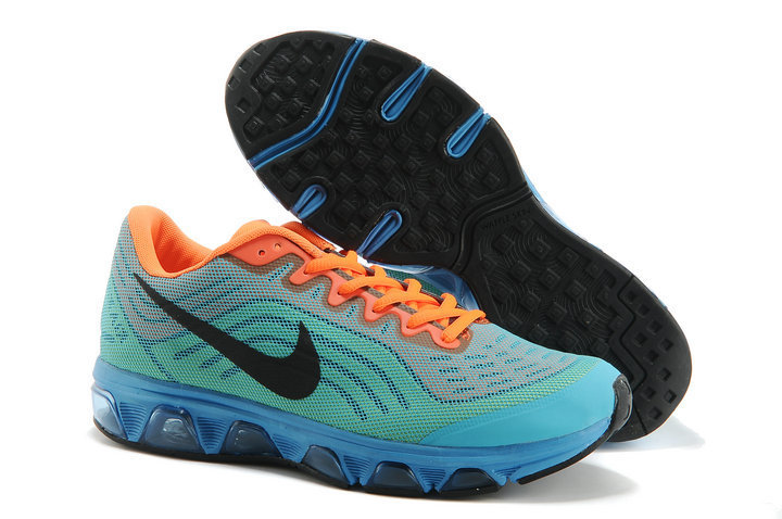 Nike Air Max 2015 Cushion Blue Green Orange Shoes